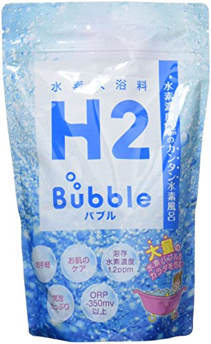 高濃度水素入浴料 エイチツーバブルお徳用パック(約20回分)...