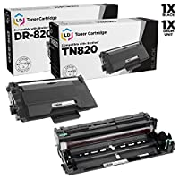 LD互換Brother tn820 /dr820トナー&ドラムユニットのセット2 for DCP l5500dn、l5600dn、l6600dw HL l5000d、l5100dn、l5200dw、l6200dw、l6300dw & MFC l5700dn、l5750dw、l5850dw、l6700dw、l6800dw