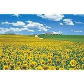 2016ベリースモールピース パズルの超達人 陽光に広がるひまわり畑-スペイン(50x75cm)