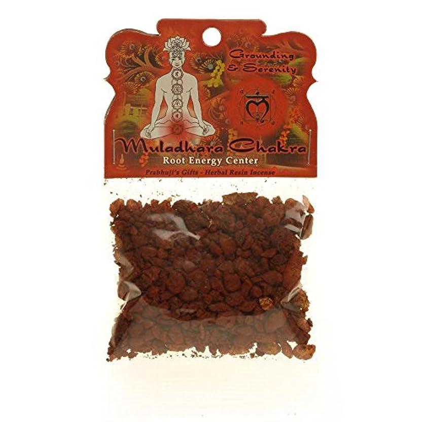 恥ずかしいオープニング経歴樹脂Incense Root Chakra Muladhara – 接地and Inner Peace – 1.2ozバッグ