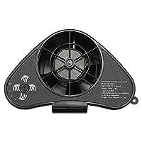 めちゃクール 空調ファン ジェットファン 空冷 冷風 送風 1個 [2018年新型 バッテリー内蔵タイプ 充電ACアダプター 日本語取説 付属] 充電式 電動ファン MCJF02