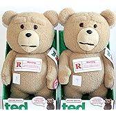 Ted 16-Inch R-Rated Talking PlusTeddy Bear w/ Moving Mouth テッド テディベア おしゃべりぬいぐるみ 16インチ 「R-レイテッド版」 米国正規公式ライセンス品 並行輸入品