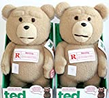 Ted 16-Inch R-Rated Talking PlusTeddy Bear w/ Moving Mouth テッド テディベア おしゃべりぬいぐるみ 16インチ 「R-レイテッド版」 米国正規公式ライセンス品 並行輸入品