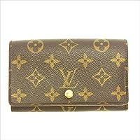 [ルイヴィトン] Louis Vuitton L字ファスナー財布 二つ折り レディース ポルトモネビエトレゾール M61730 モノグラム 中古 Y5163
