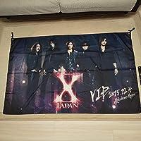 X JAPAN VIPグッズ フラッグ タペストリー プラチナチケット特典
