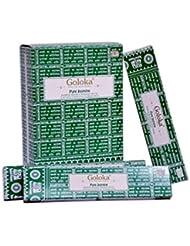 Goloka – Pureジャスミン – Jasmine Incense Sticks – 12ボックスの15グラム合計180グラム