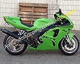 Hot SalesGreen Body Cowling For Kawasaki Ninja ZX7R Parts 1996-2003 ZX-7R ZX 7R 96 97 98 99 00 01 02 03 Motorcycle Fairing Kit [Airborne] [並行輸入品]