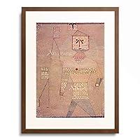 パウル・クレー Paul Klee 「Barbarenfeldherr」 額装アート作品