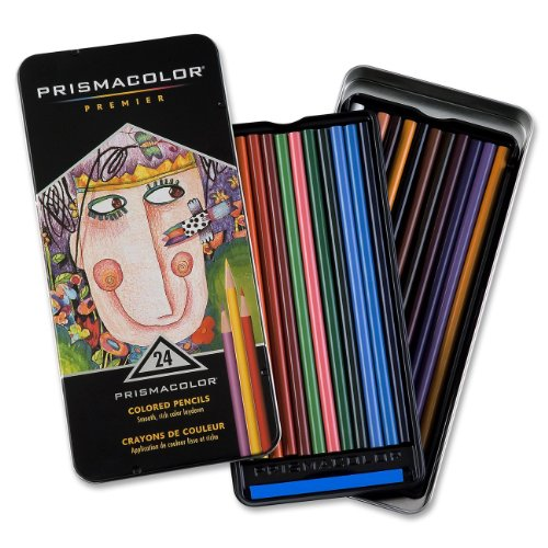 サンフォード 色鉛筆 プリズマカラー 24色セット