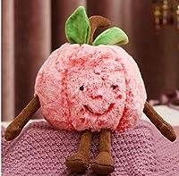 スイカの桜面白いソフトぬいぐるみホールド枕クッション創造的な女の子のぬいぐるみ HYBKY (Color : Red, Size : 45cm)