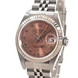 [ロレックス]ROLEX 腕時計 オイスターパーペチュアルデイトジャスト 79174 K番台(2001年) 中古[1299006] K番台(2001年) ピンクローマン