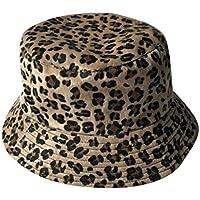 ACVIP Women s Artificial Fur Cheetah Pattern Bucket Sun Hat 26b54ee4375a