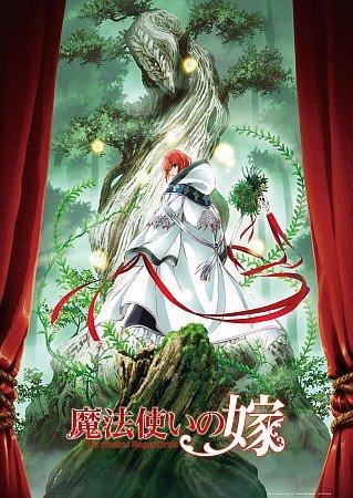 魔法使いの嫁 Blu-ray 第1巻 早期予約特典 A3 クリアポスター