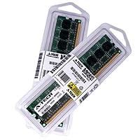 2GBキット( 2x 1GB ) for Acer Aspire x1920x3810x3900-h x3900-l x3900-m x5810。ECC DIMM ddr3pc3–85001066MHz RAMメモリ。A - Techブランド純正。
