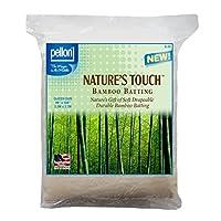 Pellonテつョ Nature's Touchテつョ Bamboo Blend Batting W/scrim - Queen 96 X 108 by Pellon