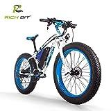 RICH BIT012 殿堂自転車1000W 21変速 アルミニウム合金 リチウムイオン電池  黄色 (ブルー)
