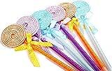 キャンディ 風 ボールペン 6種類 ×2 12本 セット (円形キャンディ)