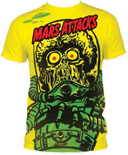 Mars Attacks マーズアタック Tシャツ 正規品 ティム・バートン 映画Tシャツ