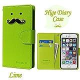 【ROCOCO】[Apple iPhone5s iPhone SE アップル iphone5s i-phone5s アイフォン5s アイホン5s アイフォン5 アイホンSE 共用 Diary Case] IPHONE5 手帳型 ケース IPHONE5 カバー 手帳 IPHONE5 レザーケース IPHONE5 スマホケース IPHONE5 ダイアリーケース IPHONE5s ケース 手帳型 IPHONE5s カバー手帳 IPHONE5s レザー ケース IPHONE5s スマホケース IPHONE5s ダイアリー ケース アイホン5s ケース 手帳型 アイフォン5s カバー 手帳 アイホン5 ケース 手帳 アイフォン5 カバー 手帳型 アイフォン アイホン 人気 かわいい おすすめ 丈夫 収納 カード入れ Diary キャラクター 携帯シンプル 手帳ケース アップル アイフォン いpほね5s 手帳型 ケース おしゃれ ブランド レディース Color キャラクター ヒゲ 人気 デザイン ヒゲ かわいい ヒゲ キャラクター icカード入れ ★Lime★