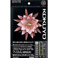 コクヨ インクジェット プロフィルム 超高光沢 2L 10枚 KJ-A102L-10 Japan