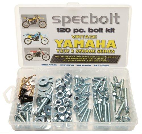 120pc Specbolt Yamahaヴィンテージyz Itボルトキット125175200250400425465490500メンテナンスRestoration yz125it175it200yz250it250mx360yz400it400it425yz465it465yz490it490wr500MX DT GT WR