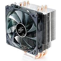 DeepCool CPU Cooler 4 Heatpipes 120mm PWM Fan with Blue LED Universal Socket Solution GAMMAXX 400 [並行輸入品]