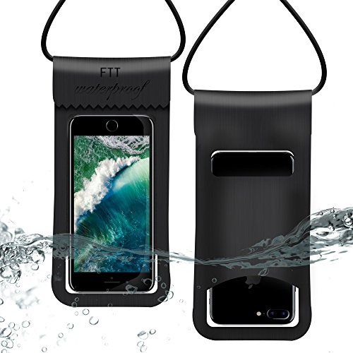 Stanbow防水ポーチ スマホ防水ケース 3層防水保護 【指紋認証防水等級IPX8】防水袋 防水バッグ 携帯防水カバー 海水浴 潜水 お風呂/温泉/水泳/砂浜/水遊び/水中撮影 iPhone X/iPhone8 plus/iPhone 7plus/Phone6 6s Plus/iPhone/Sony/Huawei Android 6インチ以下全機種対応