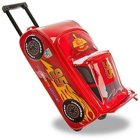 【 ディズニー 公式 】 カーズ 2   ライトニング ・ マックィーン    キャリー バッグ    トロリー バック  ( 子供用 キッズ ) 【 Disney / pixer cars 】