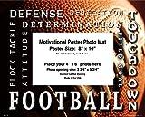 NIKE 靴 Football Motivational Poster Photo Mat Unframed 8