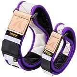 BFRトレーニングベルト「ノンスリップ」型 腕セット カラー 紫 サイズL