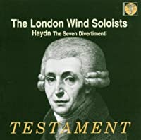 Haydn: 7 Divertimenti for 2 Oboes, 2 Horns & 2 Bassoons (2004-12-14)