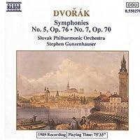 Dvorak: Symphonies Nos. 5 & 7 (1991-03-21)