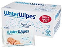 DermaH2O WaterWipes Wipes, 60 Count (Pack of 9) by DermaH2O WaterWipes