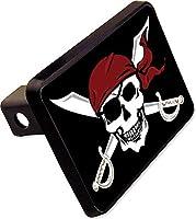 Pirate Trailer Hitchカバープラグ面白いスカルノベルティ