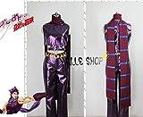 【HALLE】コスプレ衣装  コスチューム ジョジョの奇妙な冒険 ジョジョ  ジョセフ・ジョースター風 (女性Lサイズ)