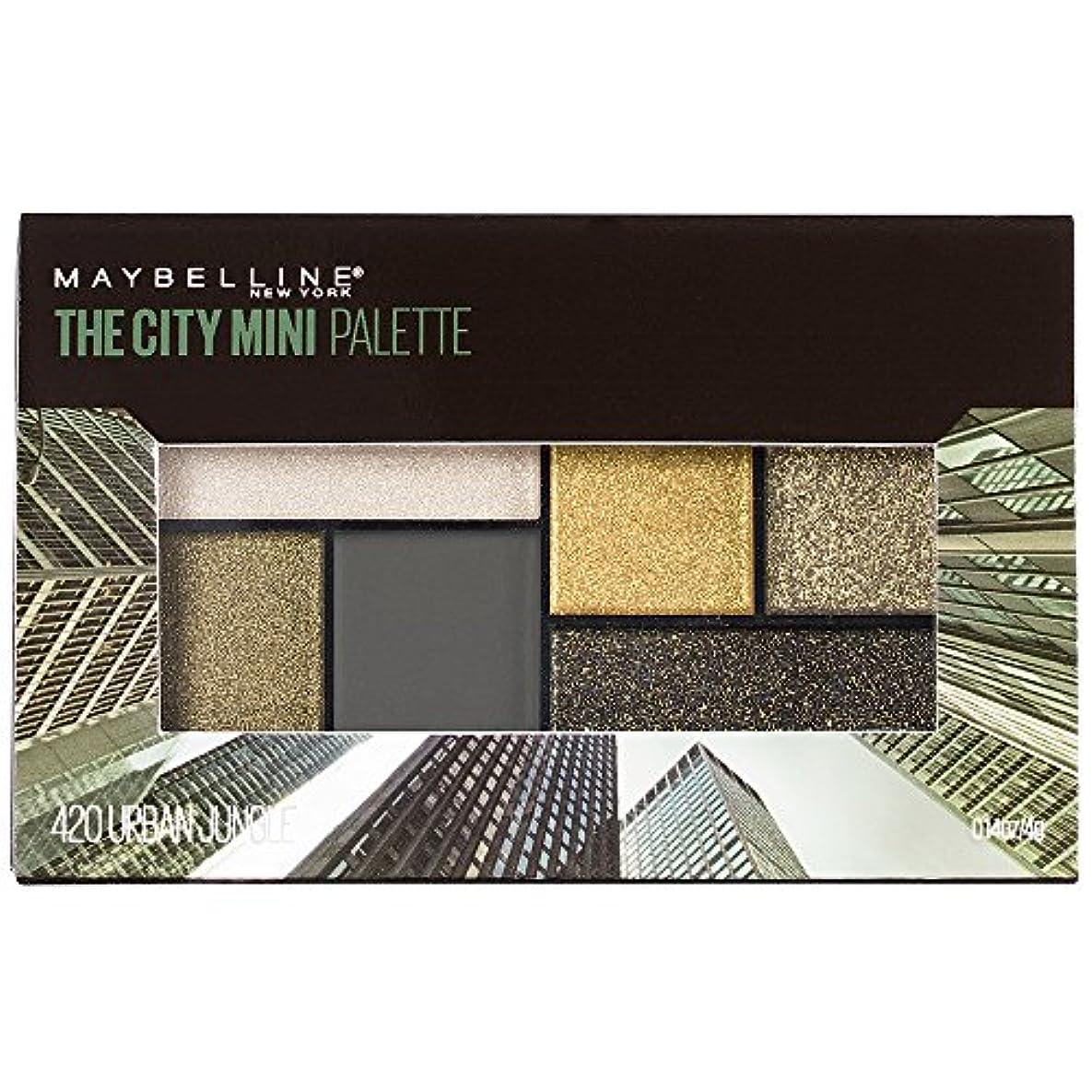 安らぎポーズ噴出するMAYBELLINE The City Mini Palette - Urban Jungle (並行輸入品)