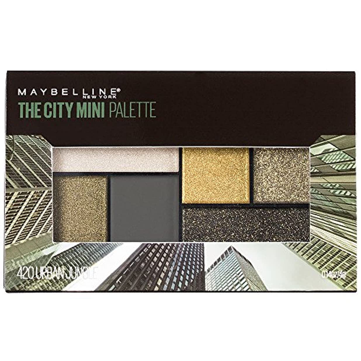 試用くそー過度にMAYBELLINE The City Mini Palette - Urban Jungle (並行輸入品)