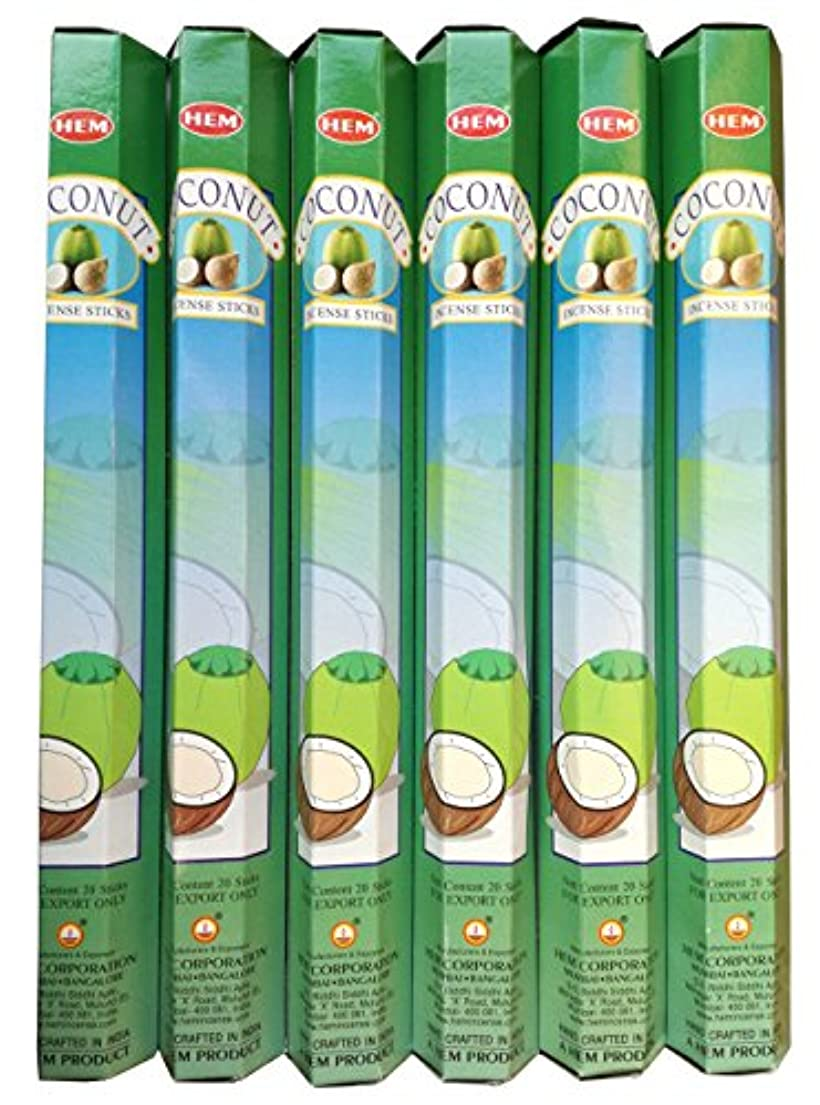 勉強するプレビュー非行HEM ココナッツ 6個セット