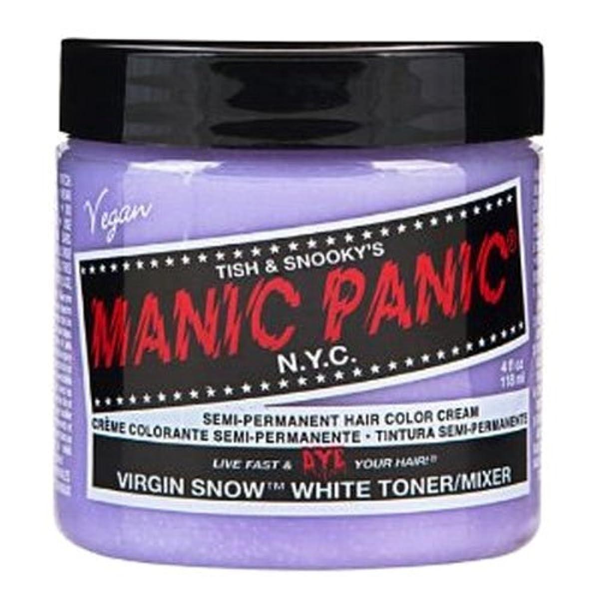 砂の優雅開いたマニックパニック カラークリーム ヴァージンスノー
