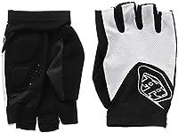 Troy Lee Designs Ace指なしメンズBMXバイク手袋–ホワイト