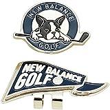 ニューバランス New Balance ラウンド小物 METRO フラッグ×ボストンテリアクリップマーカー 012-7984502 ネイビー 120