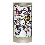 さくらほりきり 手作りキット LEDあかりアート (リーフ型) 蝶の舞 巾13.5×奥行7.5×高さ28.5cm