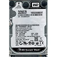 Western Digital wd3200bekt-00F3t0320GB DCM : hactjhbb