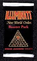 Illuminati New World Order Factory Sealed Booster Pack - 1994 Steven Jackson Games