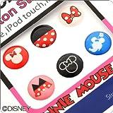 Touch me! ディズニー Diseny キャラクター ホームボタン タッチボタン ステッカー シール for iPhone5 iPhone4s iPod iPad iPhone 対応 ミニー