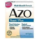 イーストインフェクション カンジタ膣炎コントロール サプリメント Azo Yeast Infection Prevention - 60 Tablets