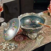 灰皿ヨーロッパスタイルレディー灰皿ホームリビングルームクラフトデコレーション灰皿の蓋レトロヨーロッパ