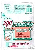 日本技研工業 つりさげポリ 大 ヨコ25cm×タテ35cm 200枚入 ×30個