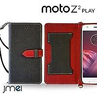 moto Z2 Play ケース手帳型 モトローラ カバー ブランド 手帳 閉じたまま通話ケース VESTA ブラック motorala simフリー スマホ カバー 携帯ケース 手帳型 スマホケース 全機種対応 ショルダー スマートフォン