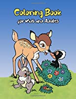 Coloring Book for Kids and Adults: Stress Relief and Relaxation Coloring Book for All Ages
